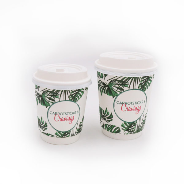 Double Wall Disposable Paper Cups – Carrotsticks&Cravings 2
