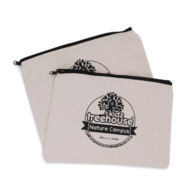 Canvas Zipper Pouch_Kidz Teehouse 1