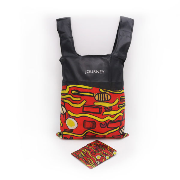 A_Polyester Foldable Bag – TOUCH COmmunity Services Past Project