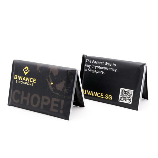Plastic Wallet Tissue Pack_Binance SG