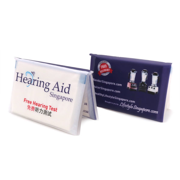 Plastic Wallet Tissue Pack_Hearing Aid