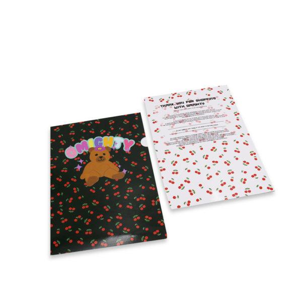 A_Paper L shape folder – FOKDA POPO