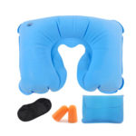 Tobo Inflatable Neck Pillow with Eye Mask and Ear Plugs Set_2