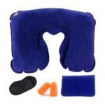 Tobo Inflatable Neck Pillow with Eye Mask and Ear Plugs Set_6
