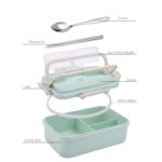 Tokto Microwavable Eco-Friendly Lunch Box_3