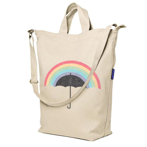 2 Way Canvas Sling bag – Baggu