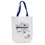 A4 Canvas Bag_Blue Handles_Ang Mo Kio Polyclinic