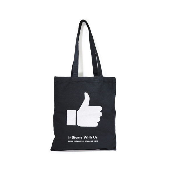 A4 Canvas Bag_(Silver Print) – Ngee Ann Poly_1