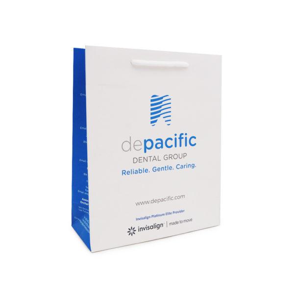 A_Custom Paper bag – De Pacific Dental Group