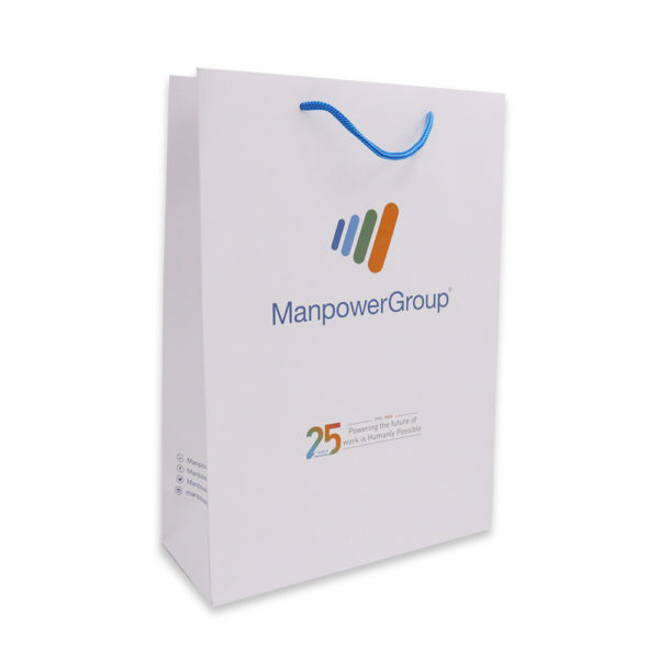A_Custom Paper bag – Manpower Staffing Services_Past Project