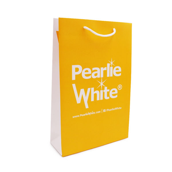 A_Custom Paper bag – Pearlie White_ Past Project