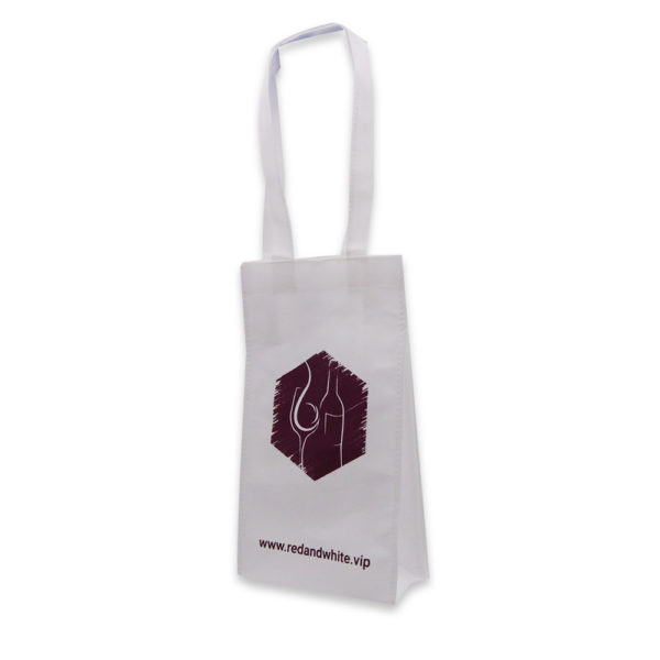 A_Wine Non woven bag – Red and White