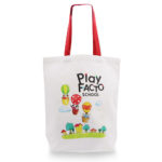 Canvas Bags with Coloured Handle_Play Facto School
