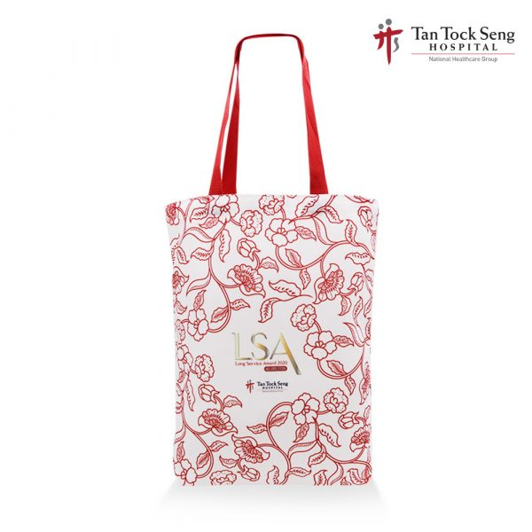 LSA – A3 Canvas Bag(Red handles) 1