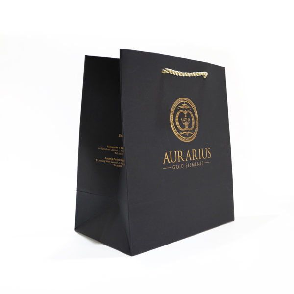 Silver Gold Hotstamping Paper Bags_Gold Elements_Aurarius_2