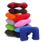 Tobo Inflatable Neck Pillow with Eye Mask and Ear Plugs Set_THR