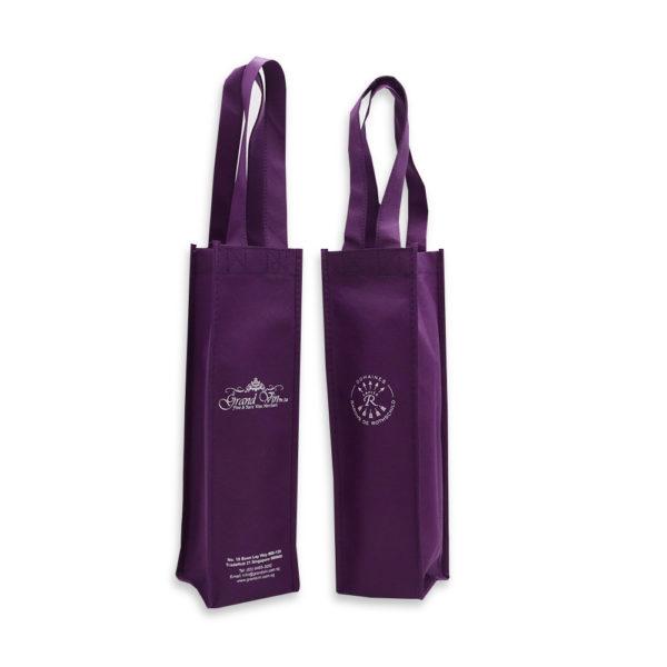 Wine non woven bag (Single) – Grand Vin