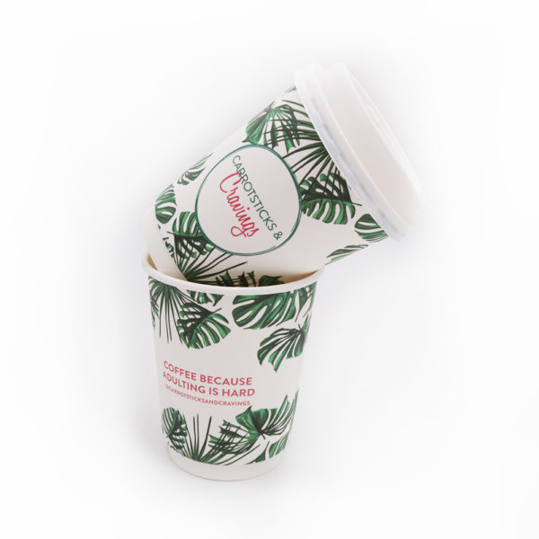 Double Wall Disposable Paper Cups – Carrotsticks&Cravings Past Project