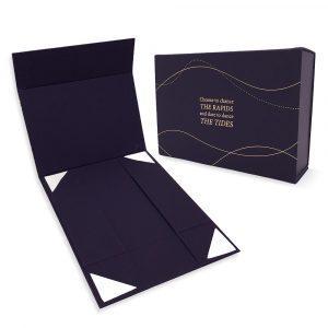 Custom luxury gift box - collapsible rigid box
